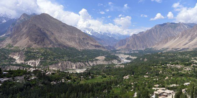 Hunza valley,
