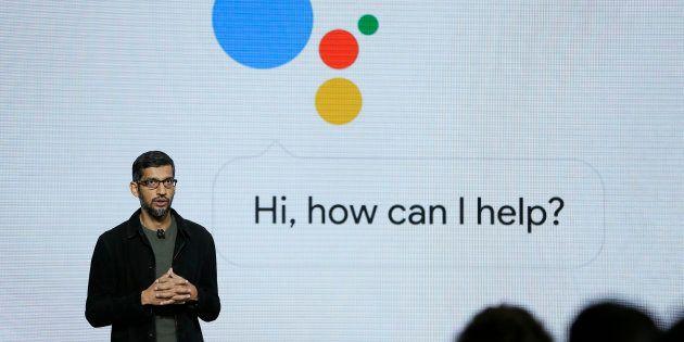 Google CEO Sundar Pichai talks about the new Google
