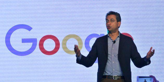 NEW DELHI, INDIA - OCTOBER 13: Rajan Anandan, Vice President and Managing Director of Google