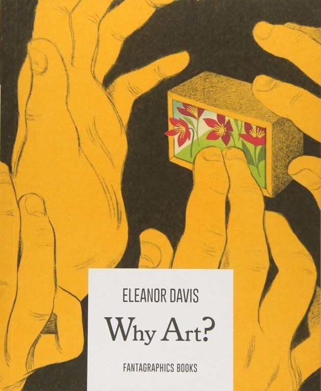 'Why Art?' effortlessly blends illustrations with narrative to ask philosophical questions about the importance of art in our lives.