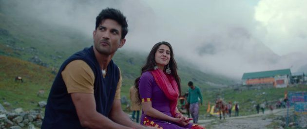 Sushant Singh Rajput and Sara Ali Khan in