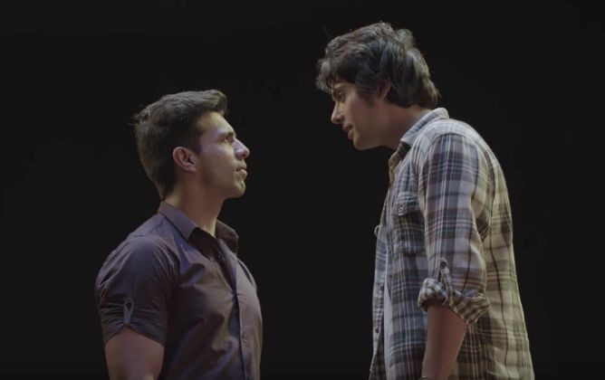 A still from Romil and Jugal.