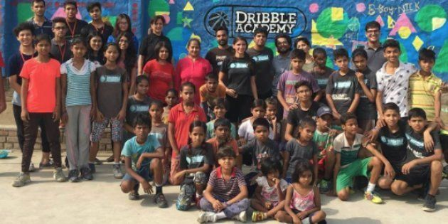 This Man Took Basketball Classes To Underprivileged Kids In A Noida Village And No One Dropped