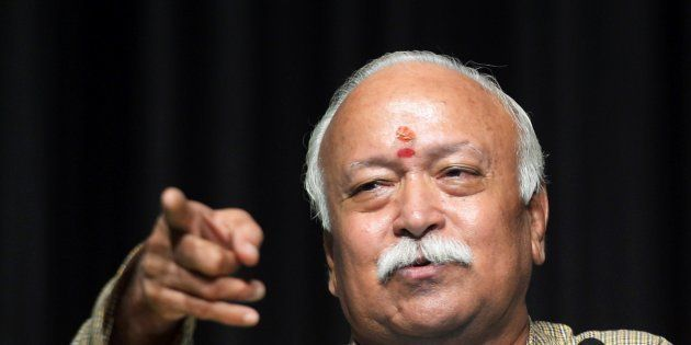 RSS Chief Calls For Law To Ban Cow Slaughter Across