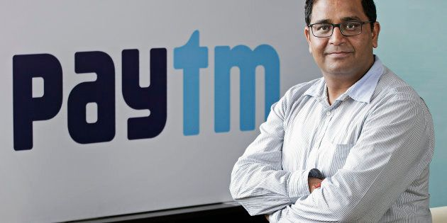 Vijay Shekhar Sharma, founder and chairman of