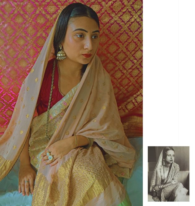 Two Young Indian Artists Are Recreating Iconic Paintings On Instagram With Stunning