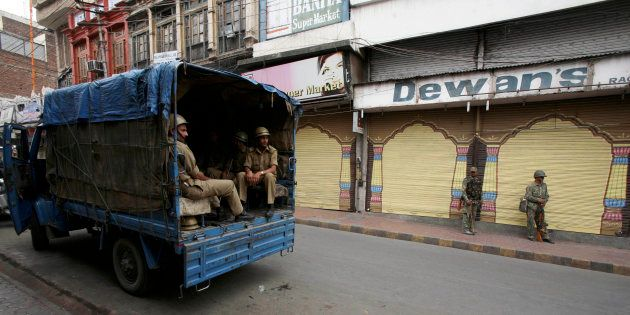 Shutdown In Kashmir Valley As Separatists Protest Killing Of 8 Civilians By Security