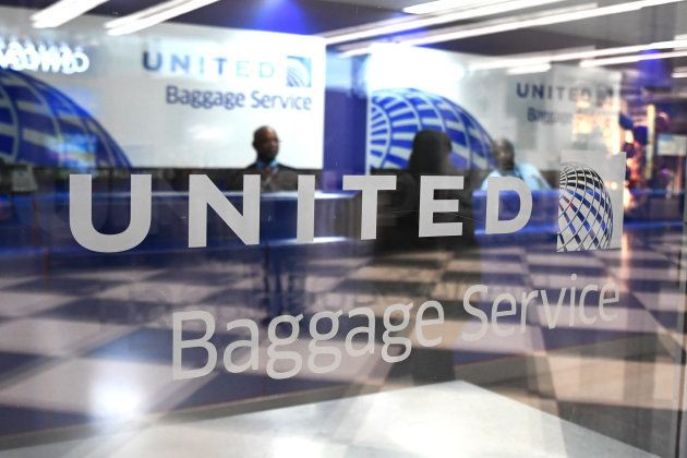 The United Airlines terminal on display at O'hare International Airport on Tuesday, April 11, 2017, in...