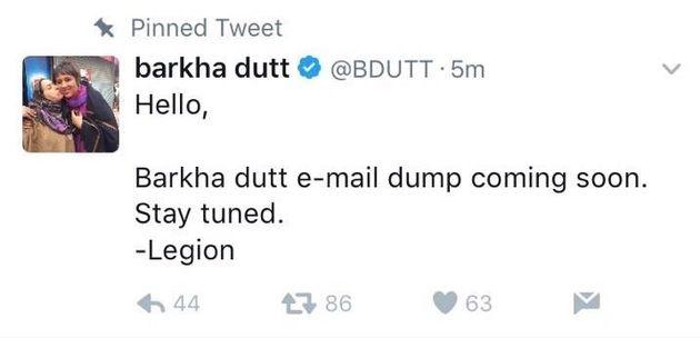 Barkha Dutt, Ravish Kumar's Twitter Accounts Hacked By The Hacker Group