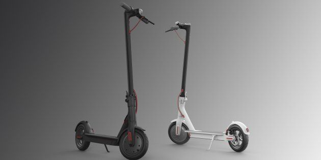 Xiaomi's Newest Product Is An Electric Scooter Which Can Fold With One