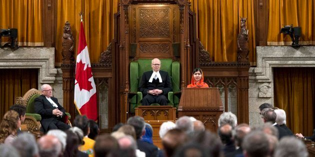 Malala's Speech To Parliament Wasn't Just Moving. It Was Hilarious,