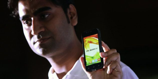 Freedom 251 The Most Googled Smartphone In India In 2016 Followed By iPhone
