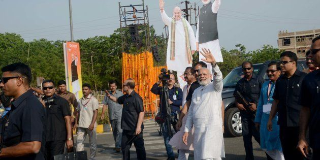 Modi Outlines Plan For 'Long Jump' To A Transformed India By