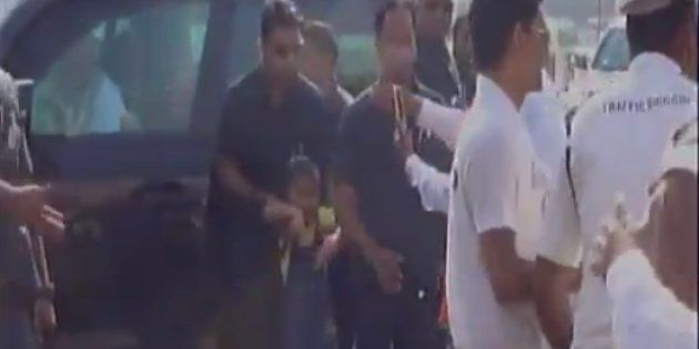 WATCH: Modi Breaks Security Protocol To Chat With Four-Year-Old
