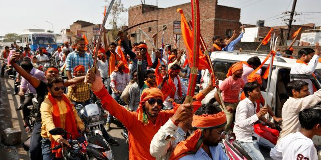 How The Hindu Yuva Vahini Is Calling The Shots On UP's Streets Now That Yogi Adityanath Is