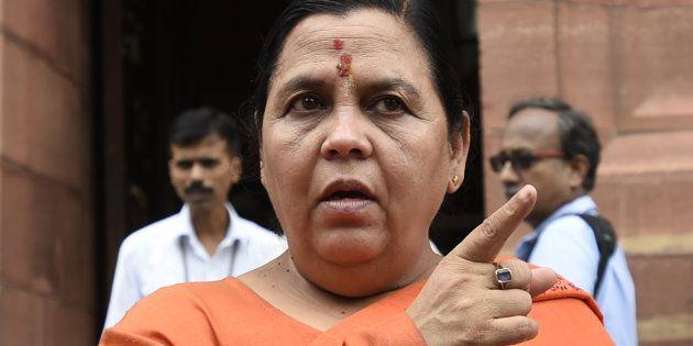 Defiant Uma Bharti Says She Was 'Proud' To Be Part Of The Ram Mandir