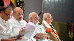 Top BJP Leaders Meet At PM Modi's Residence, Discuss Ayodhya