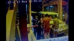 BJP MLA Caught On Camera Slapping Toll Plaza Employee In UP For Having To Wait At The