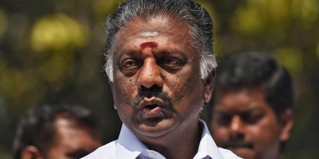Former Tamil Nadu chief minister O