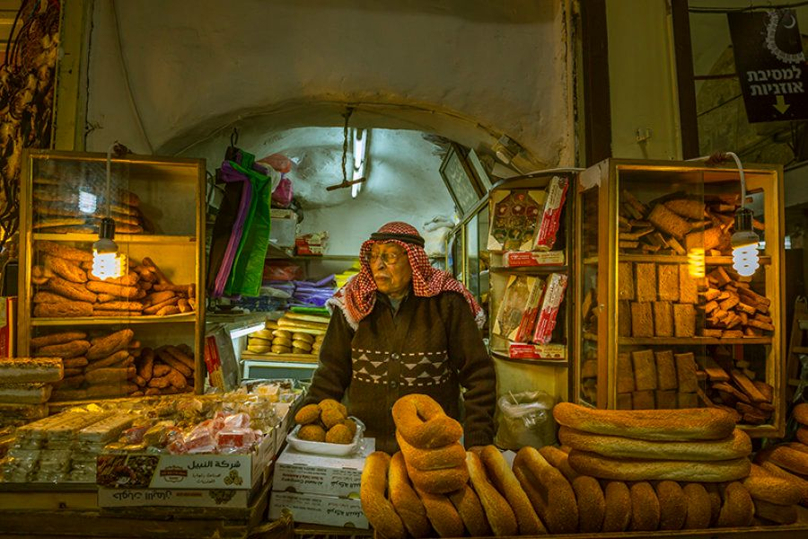 His family has been selling bread here for many