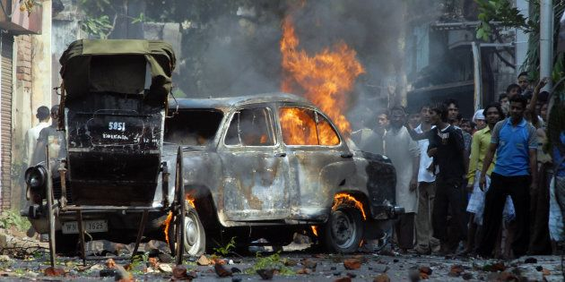 Worried Bengal Govt Plans To Form A New Force To Handle Communal