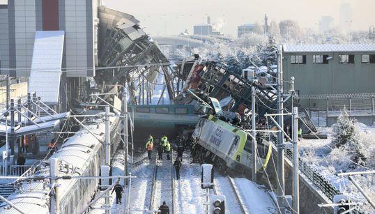 Turquie: 9 morts et 47 blessés dans un accident de train à