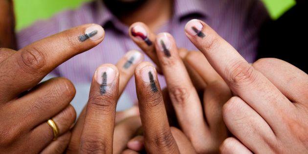 MCD Polls: Arvind Kejriwal, Lt Governor Anil Baijal, Cast Their