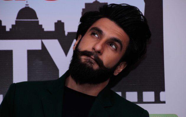 Ranveer Singh, during the promotions of