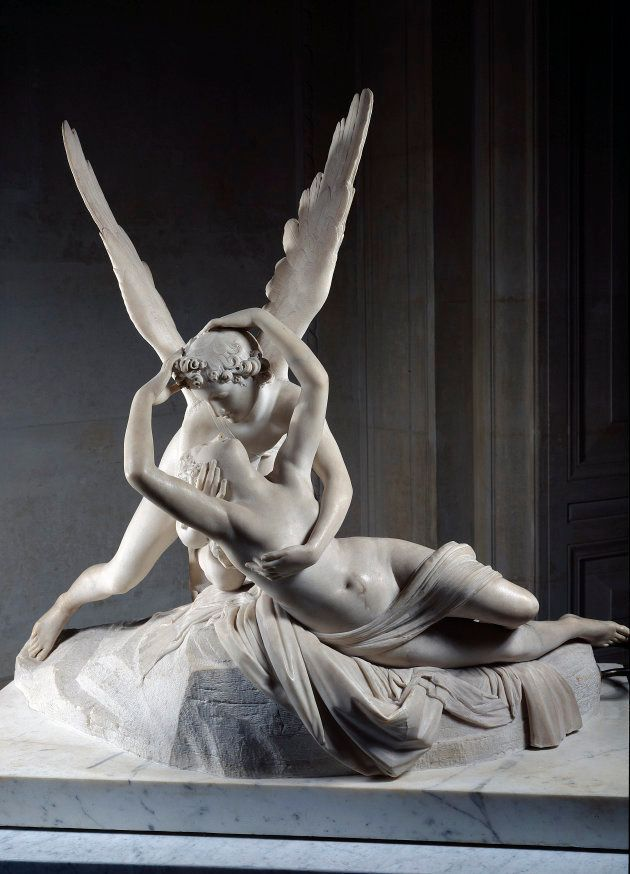 Antonio Canova (1757-1822), Psyche Revived by the Kiss of Cupid