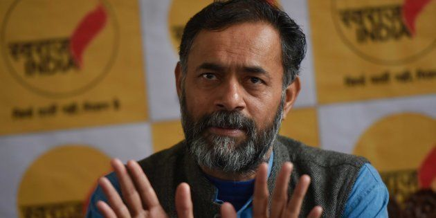 Delhi Civic Polls A Beginning For Swaraj India, Says Party Chief Yogendra