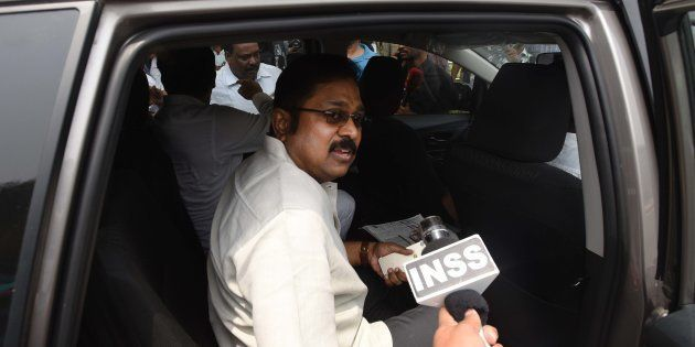 Ousted AIADMK Leader Dinakaran Gets 5-Day Police Custody In Party Symbol Bribery