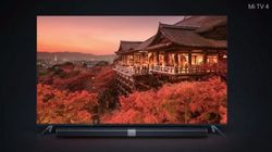 Xiaomi Launches A Ridiculous 4.9 mm Thin TV At