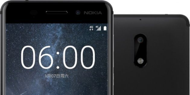 Nokia Makes A Comeback With Nokia 6 Android Smartphone For