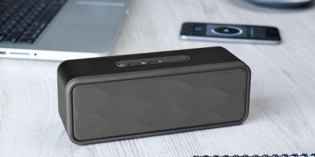 Wireless speaker on a