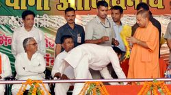 Yogi Adityanath Draws Flak For Sharing Stage With Independent MLA Who's Accused Of Murdering His