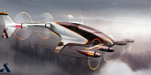Airbus Is Preparing To Test Its Self-Piloted Flying Taxi By The End Of The