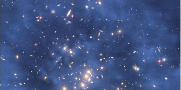 Handout image: Dark Matter Ring in Galaxy Cluster CI