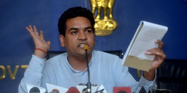 Sacked AAP Minister Kapil Mishra Accuses Arvind Kejriwal Of Taking ₹2 Crore From Satyendra