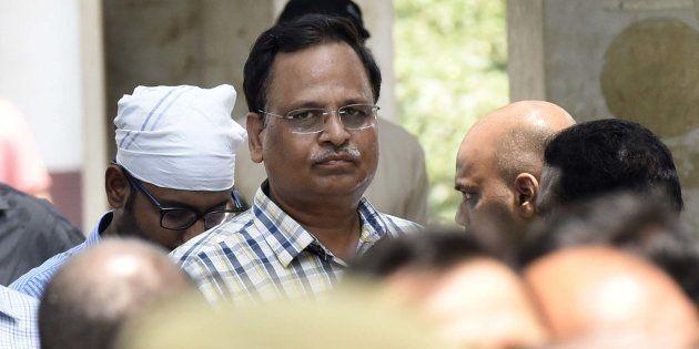 Satyendar Jain To File Defamation Case Against Sacked AAP Member Kapil Mishra: