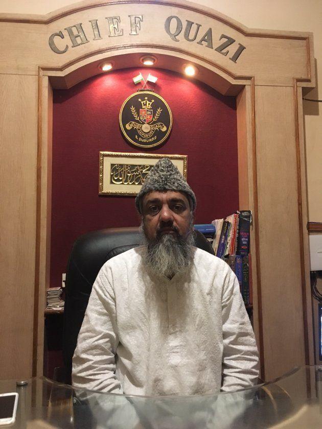 Khalid Usmani, Rajasthan's chief qazi.