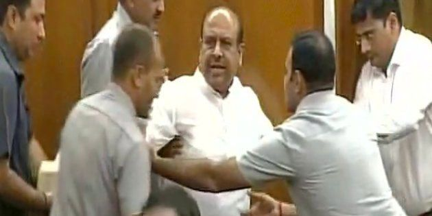 'Do You Not Believe In Democracy,' BJP MLA Vijendra Gupta Asks Kejriwal After Being Marshalled Out Of...