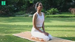 WATCH: Ira Trivedi's 10-Minute Yoga Is For Those Perpetually On The