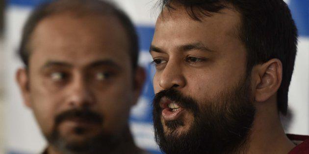 AAP Leader Ashish Khetan Allegedly Receives Death Threat From Fringe Hindu