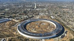 Apple's New 'Spaceship' Headquarter Boasts iPhone Inspired Lift Buttons And