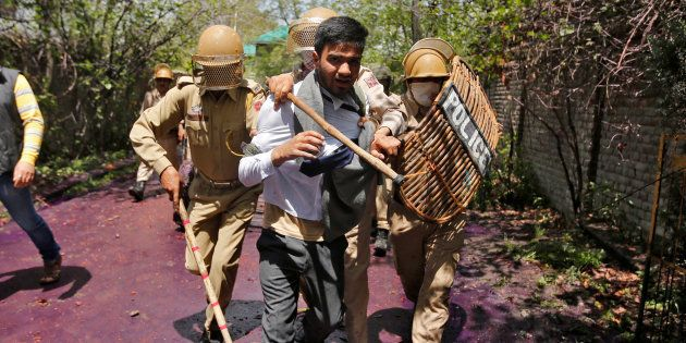 Fresh Clashes In Srinagar After Students Take Out Rally Against 'High-Handedness' Of Security