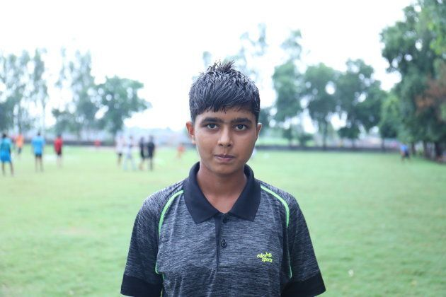 Aneybai, 15, has played the Subroto Cup in 2016.
