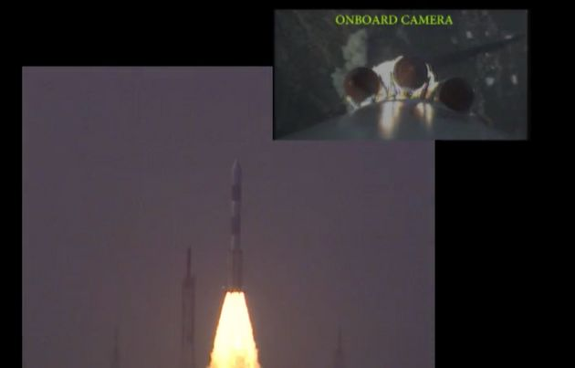 On-Board Cam Shots Of PSLV C37's Record-Setting Mission Are Out Of This