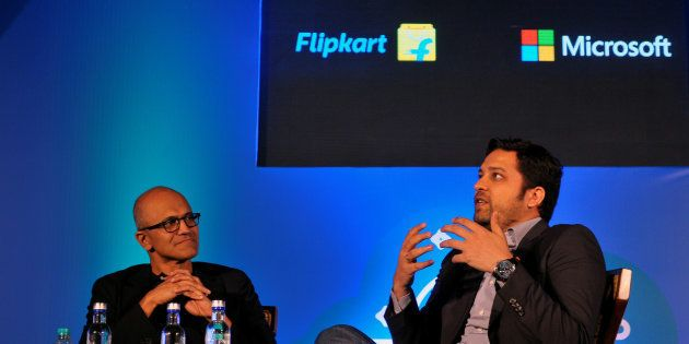 Flipkart To Sign Up With Microsoft For Exclusive Cloud