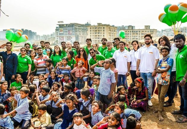 Photoblog: The Robin Hood Army Is On A Mission To Free 1 Million People From Hunger This Independence