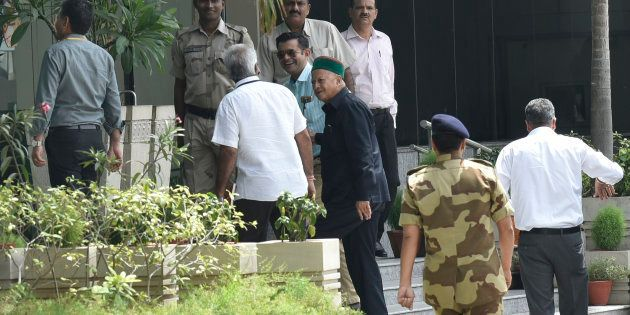 Himachal CM Virbhadra Singh, Wife Appear In Delhi Court In Disproportionate Assets